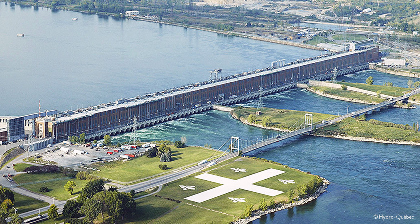 Barrage Beauharnois